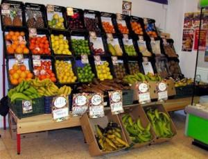 comercio de fruta